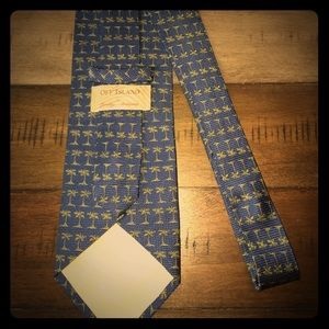 Tommy Bahama Mens Palm Tree Tie. Great Owned Item.